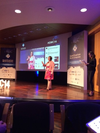 An Coppens Speaking at Gamification World Congress 2014