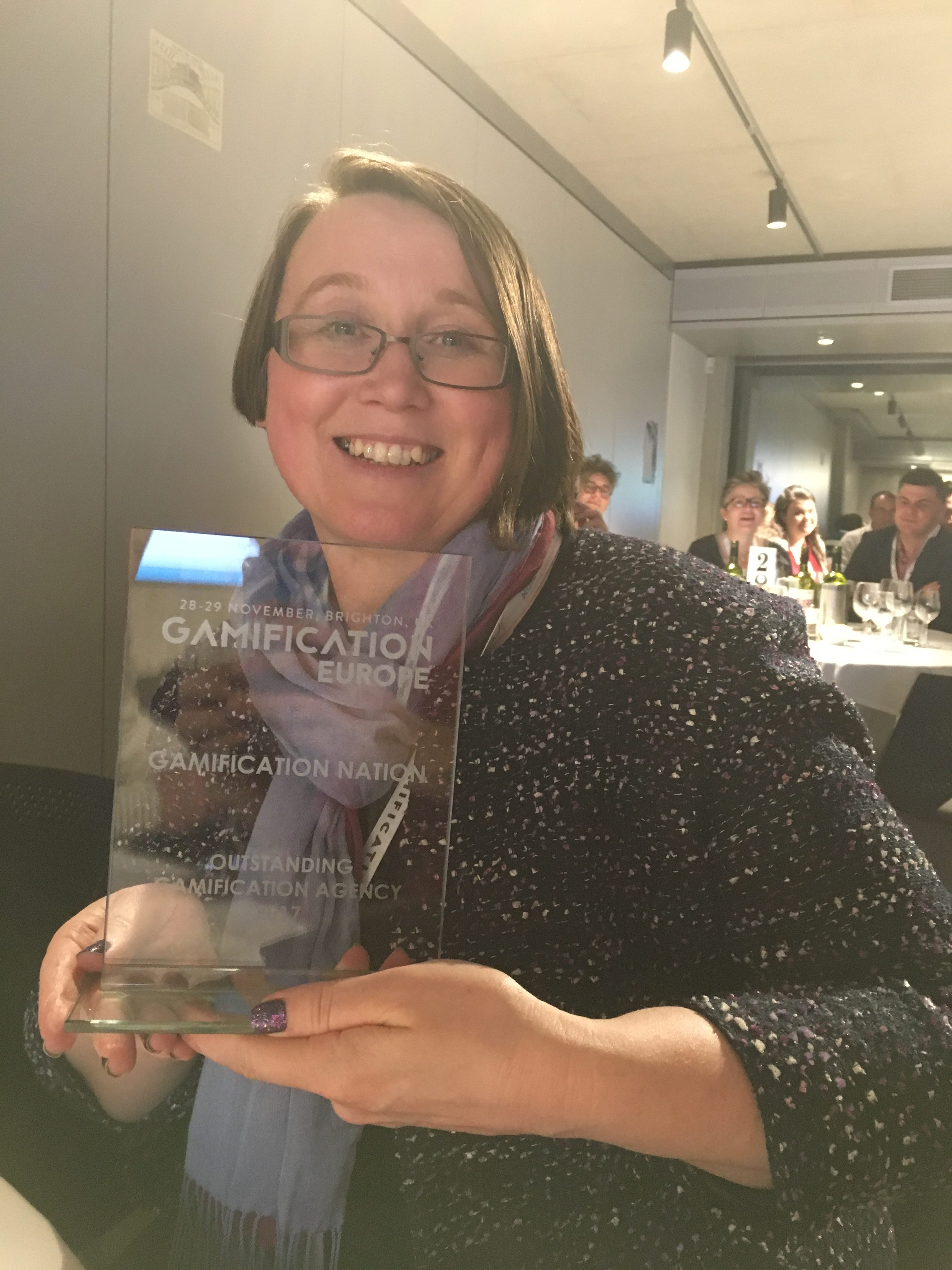 Outstanding Gamification Agency Award winner 2017